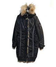 AVIREX(アヴィレックス)の古着「モッズコート」|ブラック