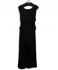GRACE CONTINENTAL(グレースコンチネンタル)の古着「オールインワン」|ブラック