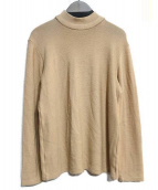 FilMelange(フィルメランジェ)の古着「LENNONモックネックニット」|ベージュ