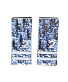Christian Dior(クリスチャン ディオール)の古着「トロッターイヤリング」|ブルー