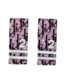 Christian Dior(クリスチャン ディオール)の古着「トロッターイヤリング」|ピンク