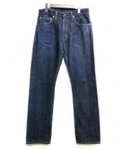 LEVIS VINTAGE CLOTHING(リーバイス ヴィンテージ クロージング)の古着「505デニムパンツ」|ネイビー
