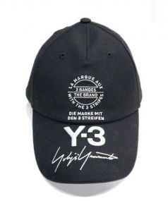 Y-3(ワイスリー)の古着「NEW LOGO CAP」|ブラック