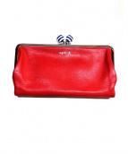 agnes b voyage(アニエスベー ボヤージュ)の古着「ガマ口長財布」|レッド