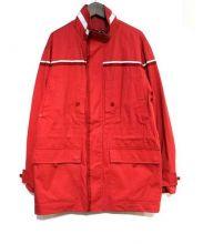 Brooks Brothers(ブルックス ブラザーズ)の古着「ジップブルゾン」|レッド