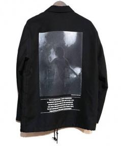 Adam et Rope(アダムエロペ)の古着「コーチジャケット」|ブラック