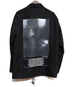 Adam et Rope(アダムエロペ)の古着「コーチジャケット」 ブラック