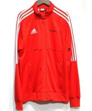 adidas×GOSHA RUBCHINSKIY(アディダス×ゴーシャラブチンスキー)の古着「サイドライントラックジャケット」|レッド