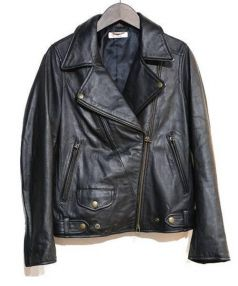 luxluft(ルクスルフト)の古着「ダブルライダースジャケット」|ブラック