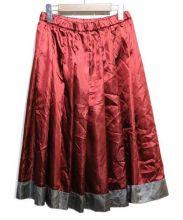 COMME des GARCONS HOMME(コムデギャルソン)の古着「プリーツスカート」|ボルドー