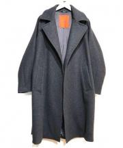 URBAN RESEARCH ROSSO(アーバンリサーチ ロッソ)の古着「Super140s Melton Coat」 グレー