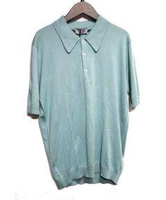 JOURNAL STANDARD(ジャーナルスタンダード)の古着「30G ショートスリーブポロシャツ」|グリーン