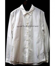UNDERCOVER(アンダーカバー)の古着「SHE'S LOST CONTROL SHIRTS」|ホワイト