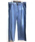 77circa(ナナナナサーカ)の古着「リメイクカットオフデニムパンツ」|インディゴ