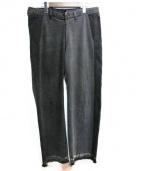 77circa(ナナナナサーカ)の古着「リメイクカットオフデニムパンツ」|ブラック