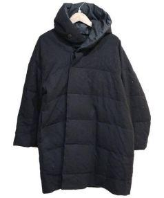 JURGEN LEHL(ヨーガンレール)の古着「ダウンシルク混コート」|ブラック