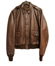 VANSON(バンソン)の古着「A-2 フライトジャケット」|ブラウン