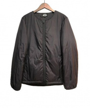 BEAMS(ビームス)の古着「中綿ブルゾン」|ブラック