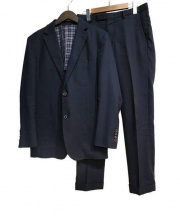 BLACK LABEL CRESTBRIDGE(ブラックレーベルクレストブリッジ)の古着「セットアップスーツ」|ネイビー