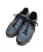 adidas by RAF SIMONS(アディダス バイ ラフシモンズ)の古着「ローカットスニーカー」|ネイビー