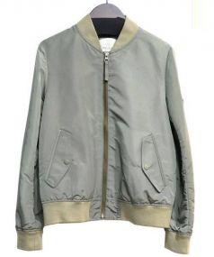 BEAUTY&YOUTH(ビューティアンドユース)の古着「MA-1ブルゾン」|カーキ
