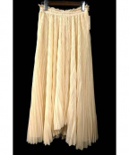 REKISAMI(レキサミ)の古着「チュールスカート」|ベージュ