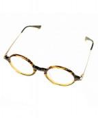 恵那眼鏡(エナメガネ)の古着「眼鏡」|ブラウン