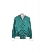 FRED PERRY(フレッドペリー)の古着「リバーシブルジャケット」|グリーン