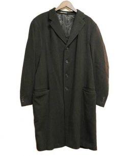 GIORGIO ARMANI(ジョルジオアルマーニ)の古着「チェスターコート」|グレー