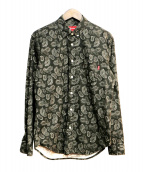 SUPREME(シュプリーム)の古着「Paisley Shirt」|グレー