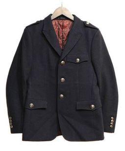 BURBERRY BLACK LABEL(バーバリーブラックレーベル)の古着「テーラードジャケット」 ネイビー