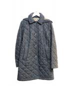 Traditional Weatherwear(トラディショナルウェザーウェア)の古着「キルティングコート」 グレー