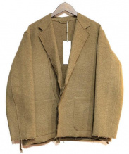 COMOLI(コモリ)の古着「作務衣ジャケット」|カーキ