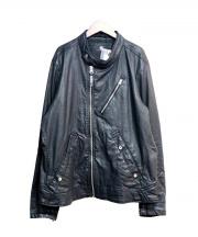 G-STAR RAW(ジースター ロゥ)の古着「バイカージャケット」|ブラック