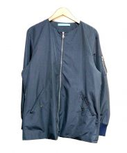 HOSU.ATPD(ホス)の古着「ノーカラージャケット」|ネイビー
