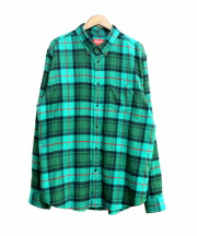 SUPREME(シュプリーム)の古着「Tartan L/S Flannel Shirt」|グリーン