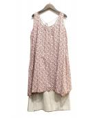 45rpm(45アールピーエム)の古着「ノースリーブワンピース」|ピンク
