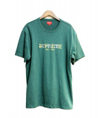 SUPREME(シュプリーム)の古着「Nouveau Logo Tee」|グリーン