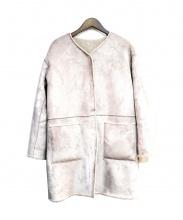 ANGLOBAL SHOP(アングローバルショップ)の古着「リバーシブルムートンコート」