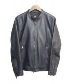 BLACK LABEL CRESTBRIDGE(ブラックレーベルクレストブリッジ)の古着「シングルライダースジャケット」