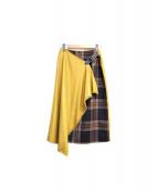 martinique×ONEIL OF DUBLIN(マルティニーク×オニール・オブ・ダブリン)の古着「インサイドタータンラップスカート」