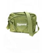 SUPREME(シュプリーム)の古着「ロゴ総柄ナイロンショルダーバッグ」