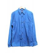 BLUE BLUE(ブルーブルー)の古着「インディゴダイシャツ」|ネイビー