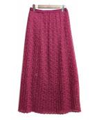 IENA(イエナ)の古着「プリーツスカート」 ピンク