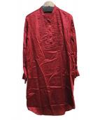 JOSEPH(ジョゼフ)の古着「ブラウスワンピース」|レッド