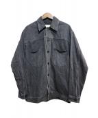 WISM(ウィズム)の古着「デニムジャケット」|ブラック