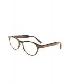 DITA(ディータ)の古着「伊達眼鏡」|ブラウン