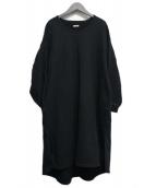 KAPITAL(キャピタル)の古着「スウェットサックワンピース」|ブラック
