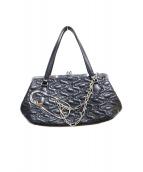 Vivienne Westwood(ヴィヴィアンウエストウッド)の古着「ハンドバッグ」|ブラック