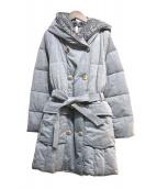 YOSOOU(ヨソオウ)の古着「中綿コート」|グレー